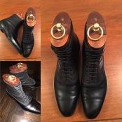 My own design bespoke Lobbs boots