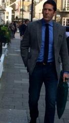 Smart casual with Harris tweed