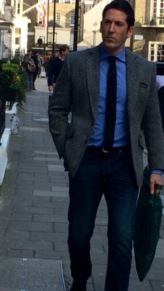 Smart casual with Harris tweed