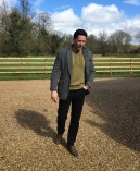 Winter jumper and tweed combo