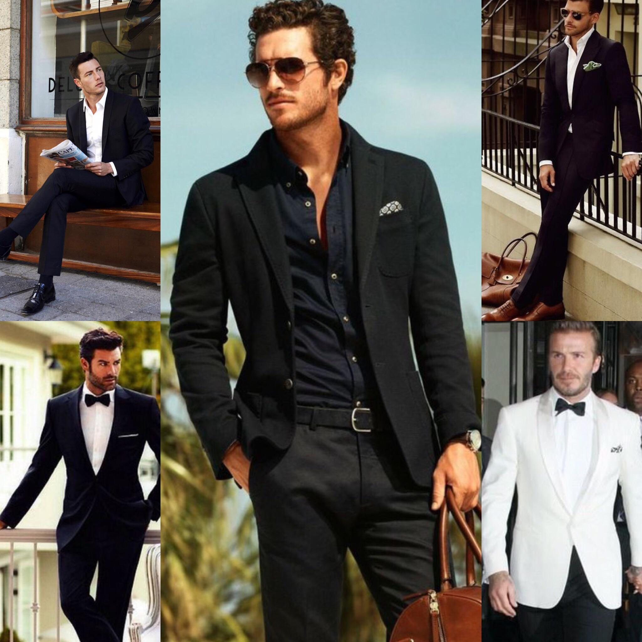 30 Ways To Wear A Black Suit Craig Featherstone