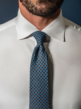 Luxury Jersey checked tie limited edition WAS £95 - Black Friday deal £47.50 LAST FEW REMAINING